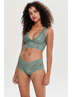 onlchloe lace bra noos acc 15107599 only ondergoed chinois green