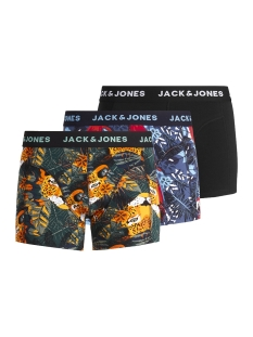 Jack & Jones Ondergoed JACANIMALS TRUNKS 3 PACK 12151359 Wasabi/Ensign Blue