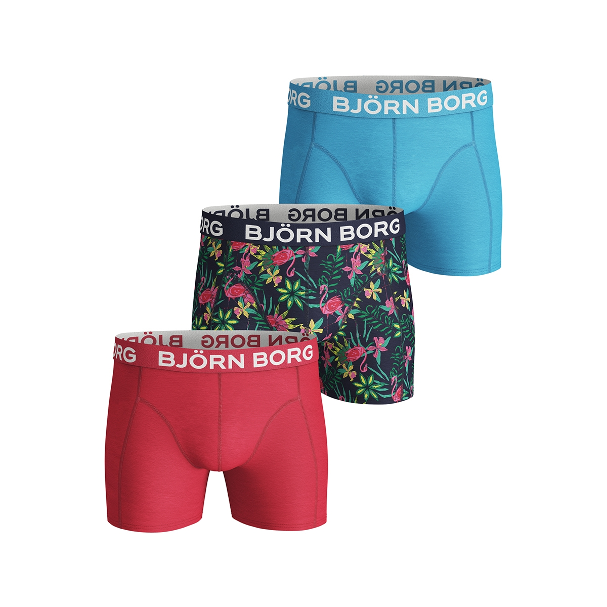 shorts bb exotic 3p 1921 1146 bjorn borg ondergoed 70011 peacoat