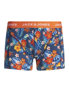 Jack & Jones Ondergoed JACCRAZY FLOWER PRINT TRUNKS 12157394 Exotic Orange