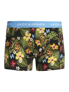 Jack & Jones Ondergoed JACCRAZY FLOWER PRINT TRUNKS 12157394 Bonnie Blue