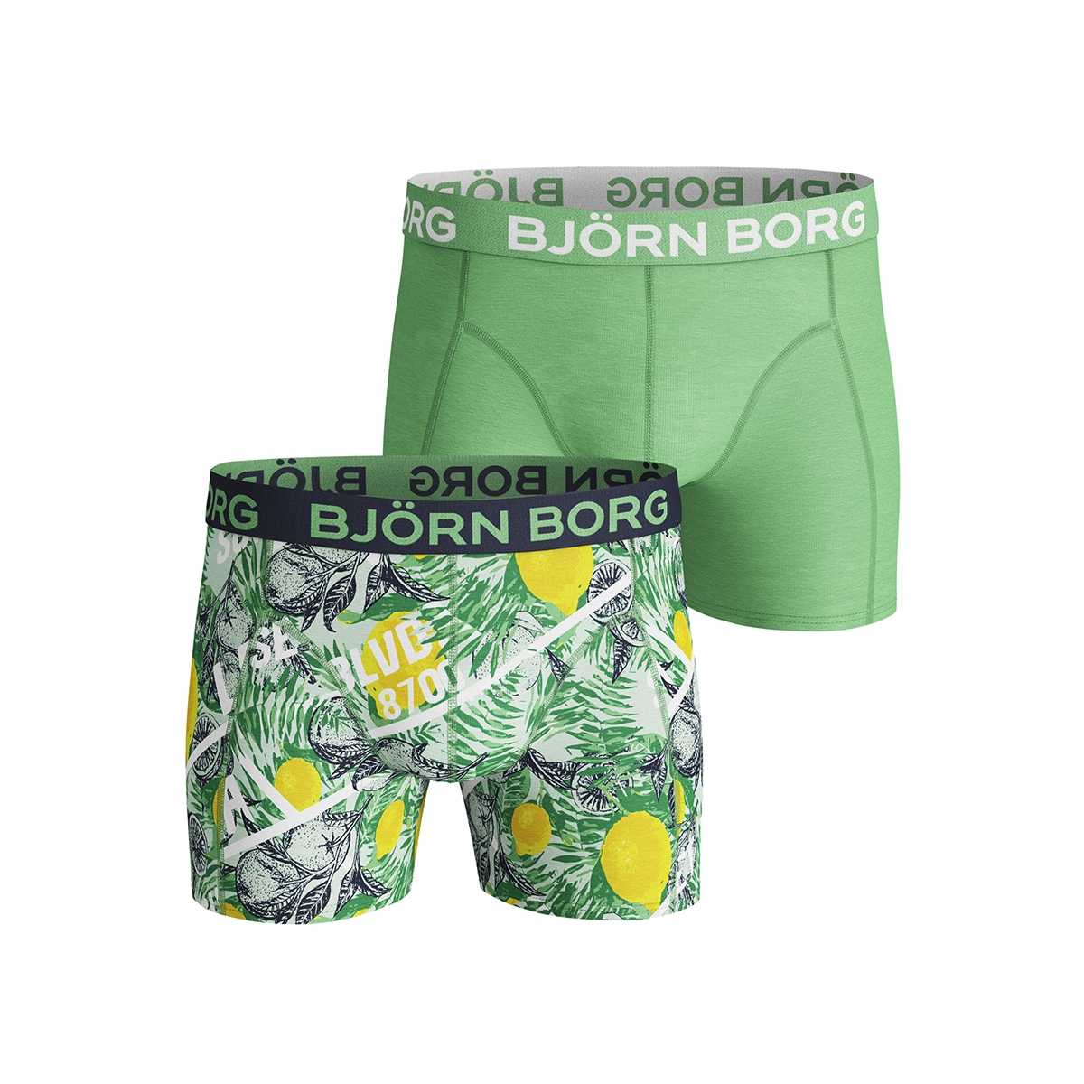 shorts bb la lemon 1911 1246 bjorn borg ondergoed 80391 honeydew