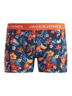 Jack & Jones Ondergoed JACSUMMER FLOWER TRUNKS 12154885 Exotic Orange