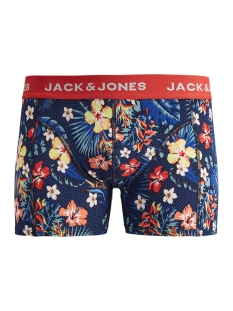 Jack & Jones Ondergoed JACSUMMER FLOWER TRUNKS 12154885 Fiery Red