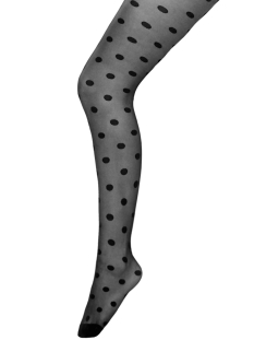 onlmoon dot tights 15187854 only accessoire black