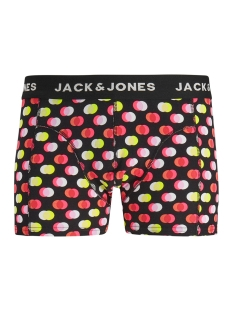 Jack & Jones Ondergoed JACDOTS TRUNKS NOOS 12157767 Black