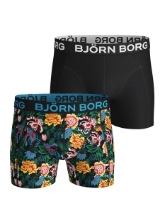 Bjorn Borg Ondergoed SHORT BB STRONG FLOWER 1931 1225 90651 BLACK BEAUTY