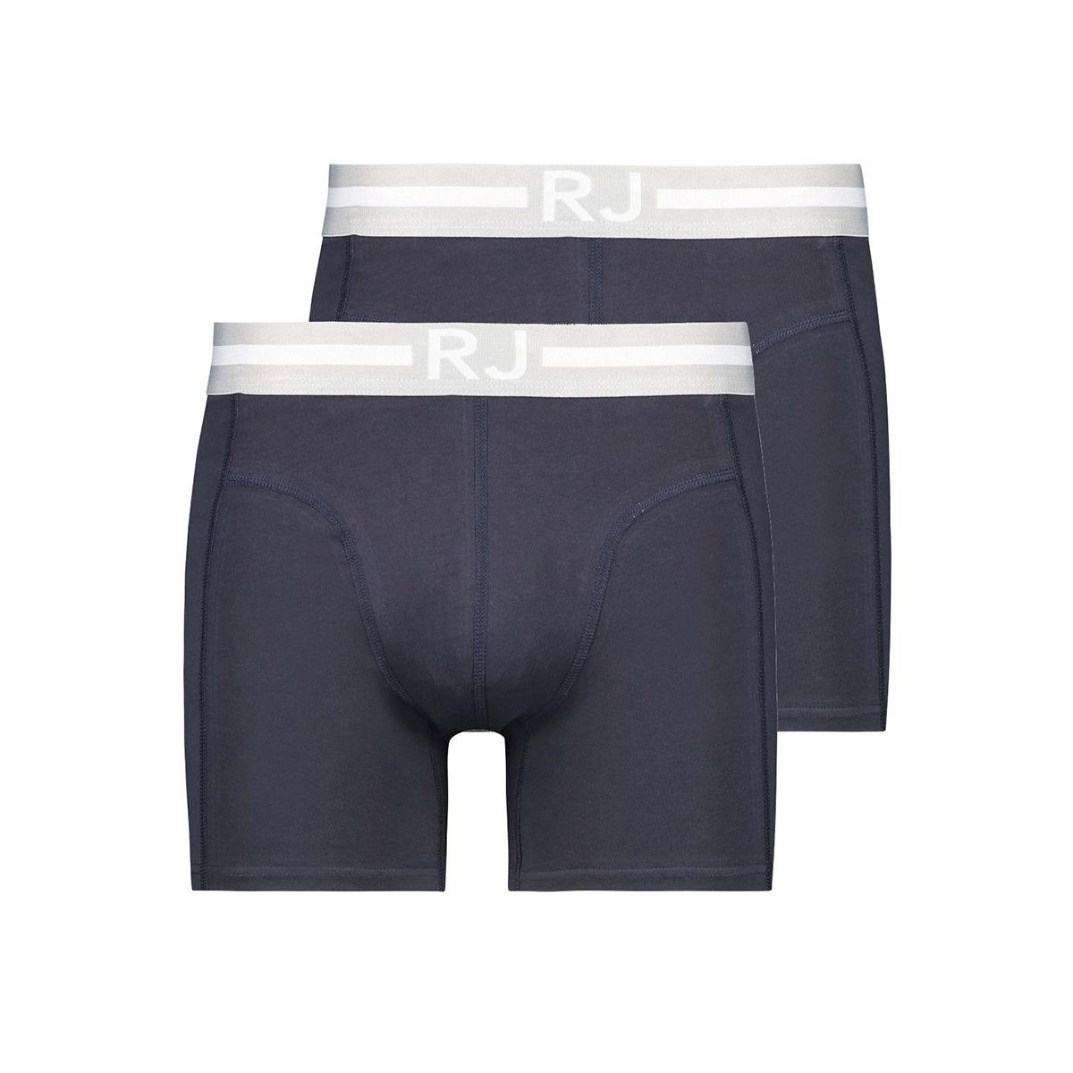 breda boxershort 2-pack rj bodywear ondergoed navy