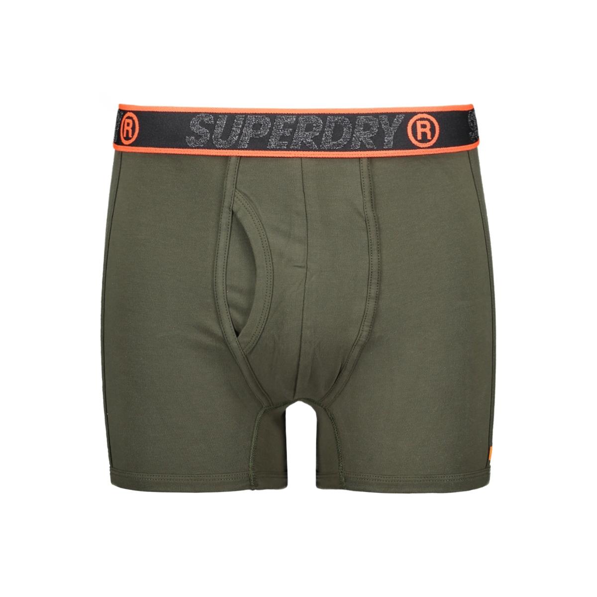 sport boxer dbl pack m3100019a superdry ondergoed nordic khaki