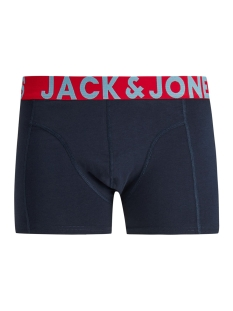 jaccrazy solid trunks 3 pack noos 12151349 jack & jones ondergoed black/navy blazer
