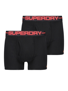 Superdry Ondergoed SPORT BOXER DOUBLE M3100017A BLACK