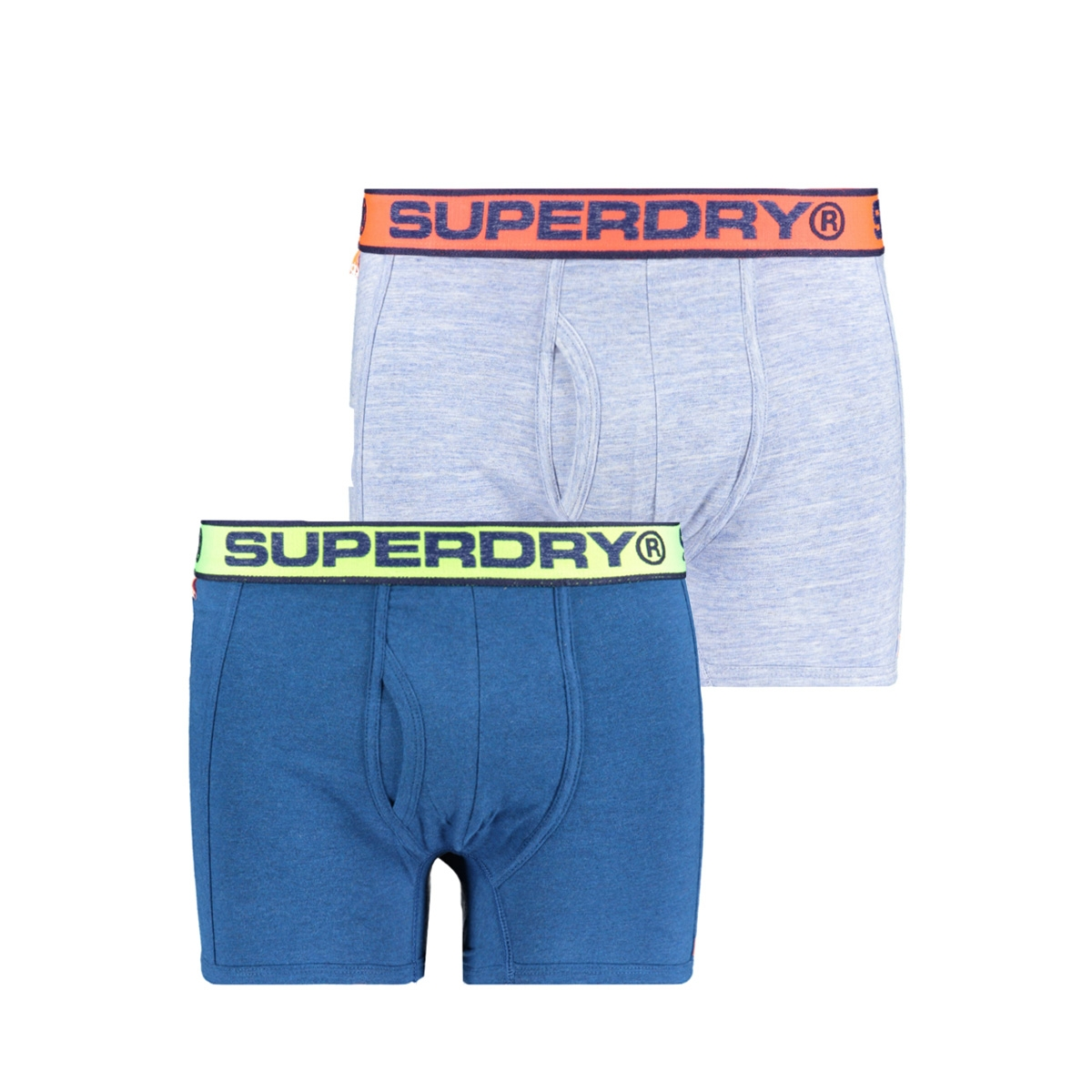 sport boxer dbl pack m3100019a superdry ondergoed milton blue marl