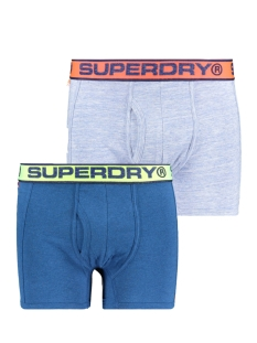Superdry Ondergoed SPORT BOXER DBL PACK M3100019A MILTON BLUE MARL
