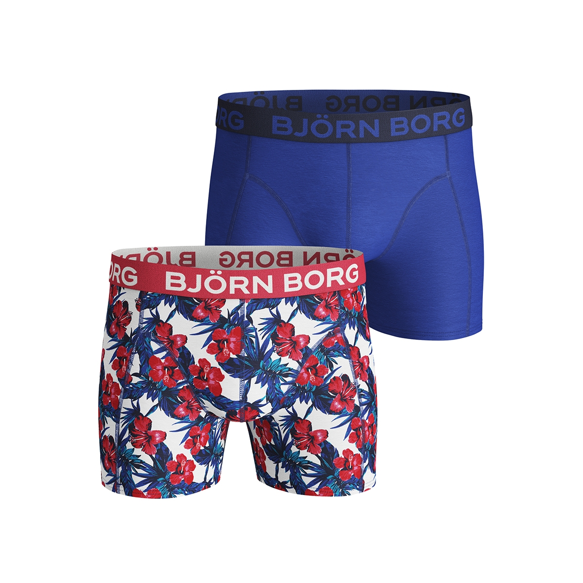 shorts bb flower 1921 1140 bjorn borg ondergoed brilliant white