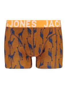 jacstripe animal trunks 12161474 jack & jones ondergoed persimmon orange