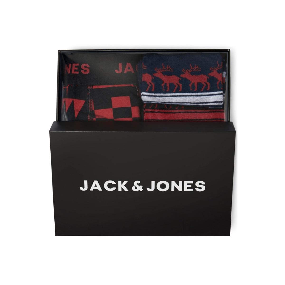 jacraindeer giftbox 12162242 jack & jones ondergoed black/black navy