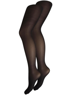 Pieces Accessoire PCNEW NIKOLINE 20 DEN 2 PACK TIGHTS 17091936 Black
