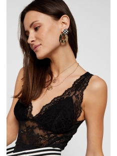 pclina lace bodystocking 17101036 pieces top black