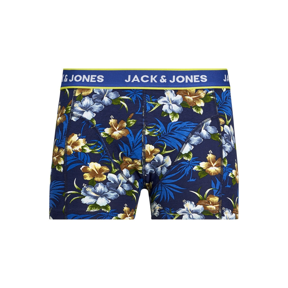 jacflower trunks 3 pack.noos 12171253 jack & jones ondergoed black/bardaboes