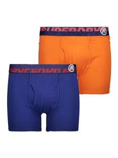 Superdry Ondergoed SPORT BOXER DBL PACK M3100026A DOWNHILL BLUE/BUCK ORANGE