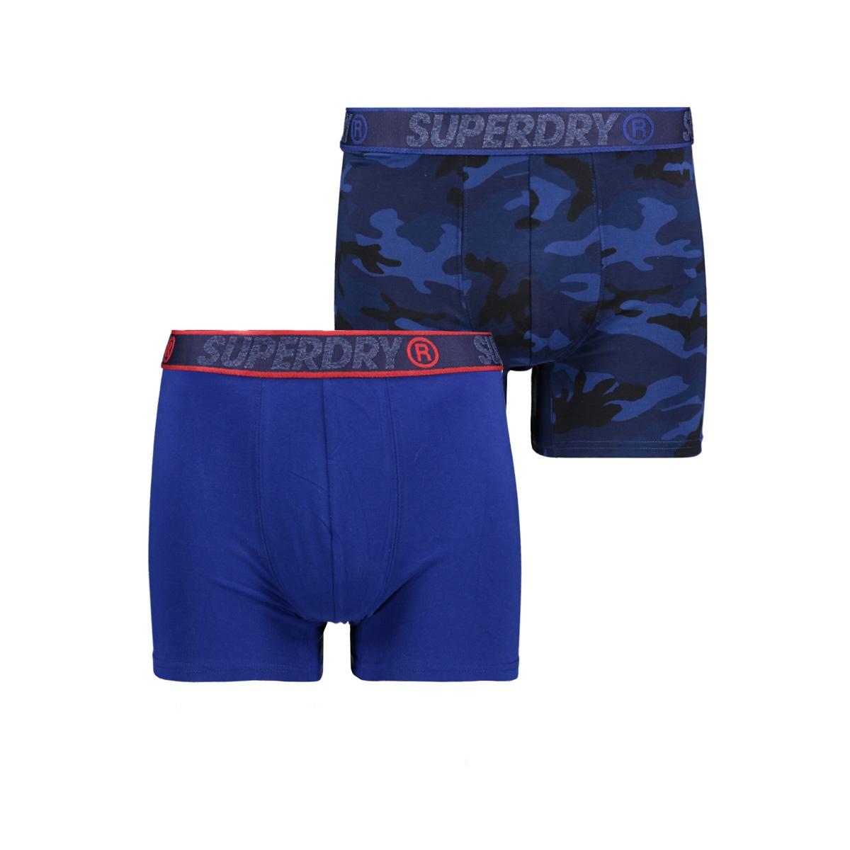 boxer dubble pack m3110001a superdry ondergoed camo