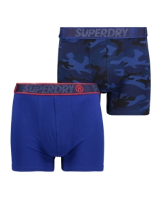Superdry Ondergoed BOXER DUBBLE PACK M3110001A CAMO