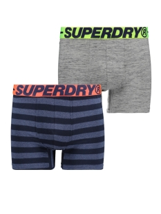 Superdry Ondergoed BOXER DUBBLE PACK M3110001A GREY GRIT