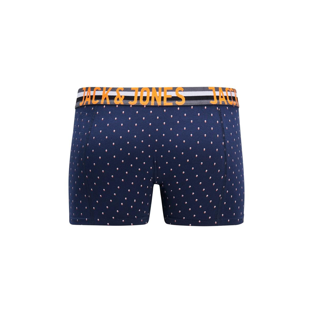jachenrik trunks 3 pack noos 12151351 jack & jones ondergoed black/navy blazer
