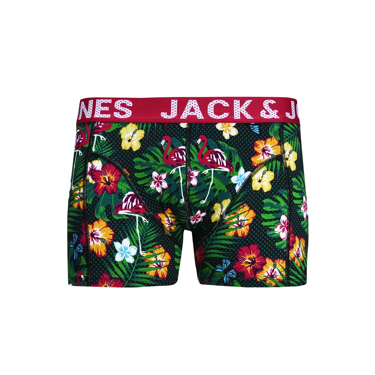 jacsummer trunks sts 12176226 jack & jones ondergoed black