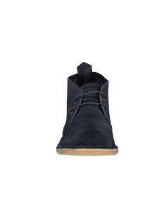 jfwgobi suede desert boot navy blaz 12110710 jack & jones schoen navy blazer