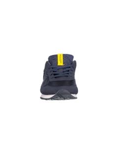 jjlafayette mesh sneaker navy blazer 12103680 jack & jones schoen navy blazer