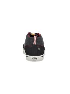 jfwshark wool combo mid sneaker 12110723 jack & jones sneaker anthracite