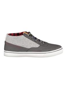 jfwshark wool combo mid sneaker 12110725 jack & jones sneaker asphalt