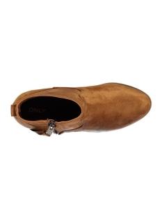 onlbryce bootie 15123616 only schoen cognac