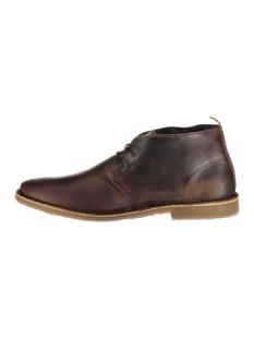 jfwgobi warm leather 12112970 jack & jones schoen brown stone