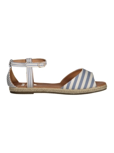 Only Schoen onlEMMA STRIPE SANDAL 15131261 Total Eclipse/ White