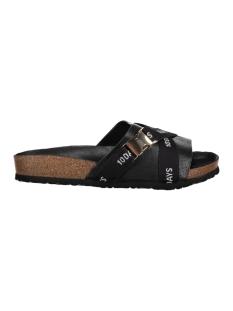 10 Days Slipper 20-930-7101 BLACK