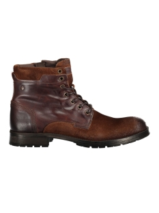 Jack & Jones Laars JFWDENNIS LEATHER BROWN STONE 12130555 Brown Stone