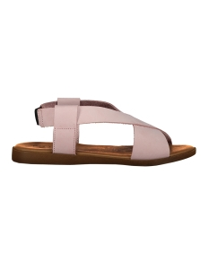 Pieces Sandaal PSMALU LEATHER SANDAL 17087250 Rose Dust