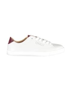 Only Sneaker onlSILJA PU SNEAKER 15162272 White