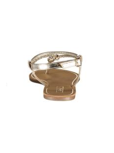onlmargit braided ankel sandal 15172381 only sandaal gold colour