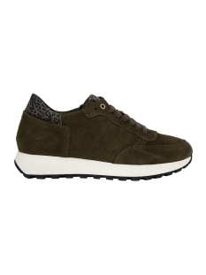 Zusss Sneaker HIPPE RUNNER Z1554 03HR19NAGN KHAKI SUEDE