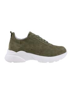 Zusss Sneaker GAVE SNEAKER Z1560 GREEN - SUEDE