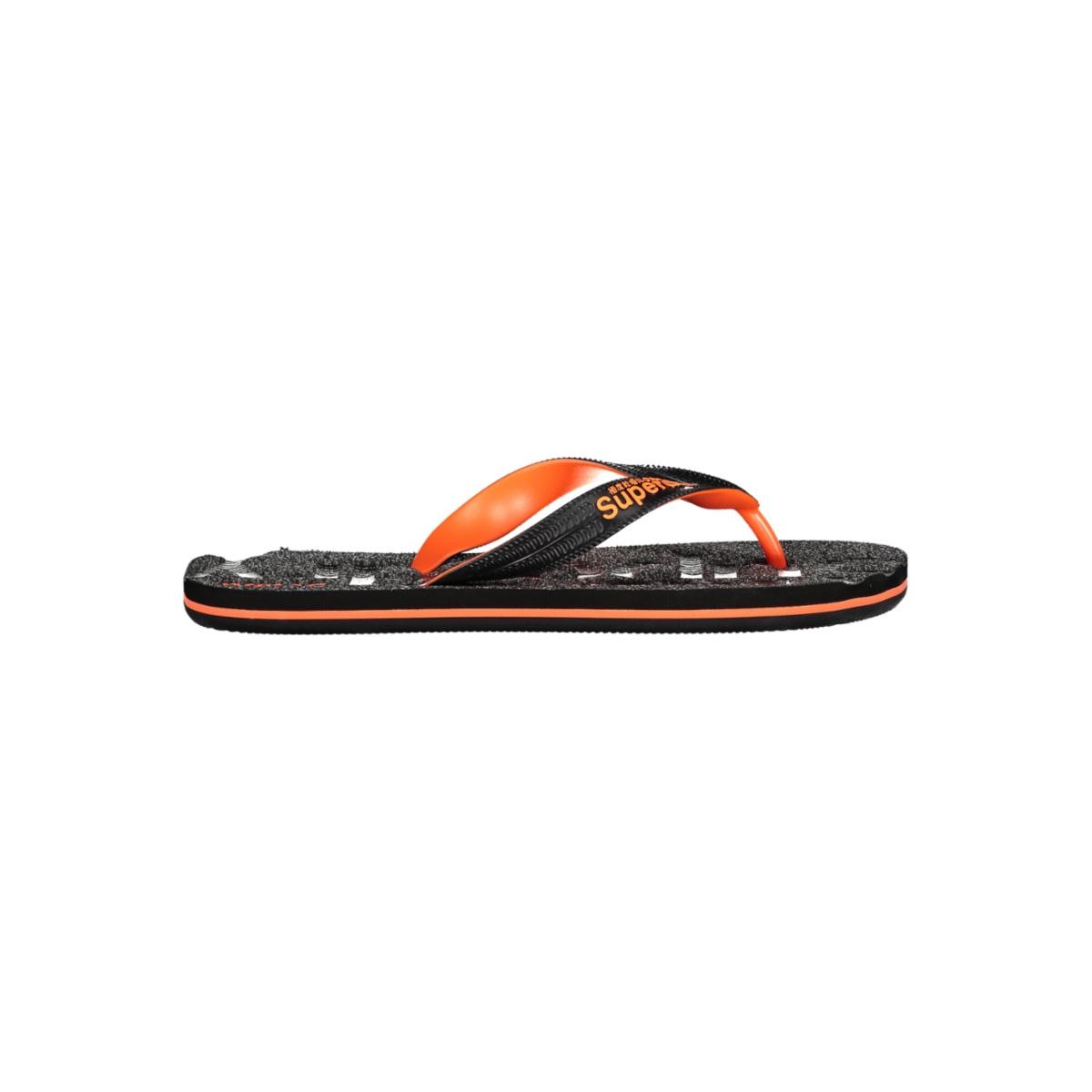 scuba grit flip flop mf310009a superdry slipper black grit