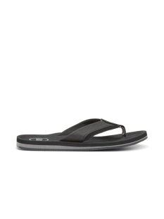 jfwshaw flip flop pack 2 12169432 jack & jones slipper antrhacite