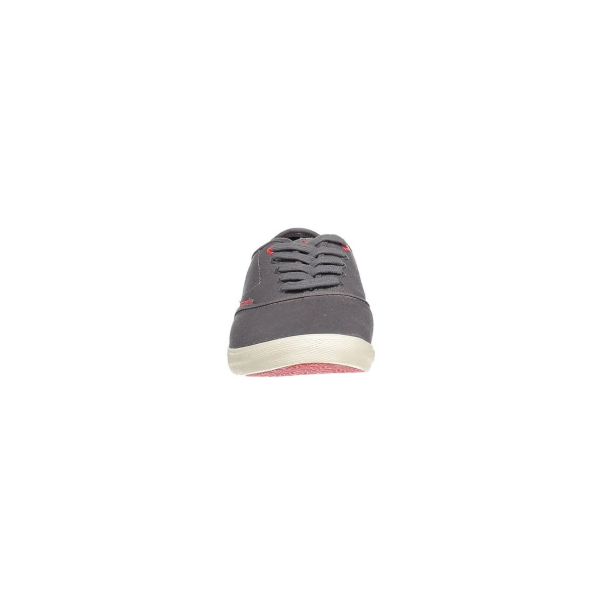 jjspider canvas sneaker 12103537 jack & jones sneaker pewter