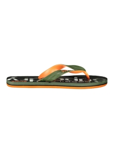 Superdry Slipper SCUBA GRIT FLIP FLOP MF3106ET KHAKI CAMO/KHAKI/ORANGE