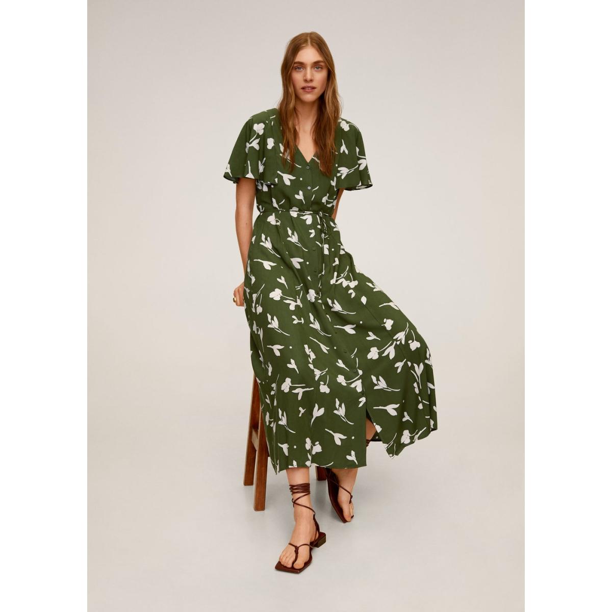 lange jurk met print 67077660 mango jurk 37