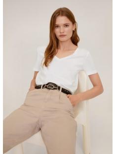 Mango T-shirt KATOENEN T SHIRT MET V HALS 67084384 01