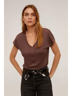 Mango T-shirt T SHIRT VAN LINNEN 67945949 32